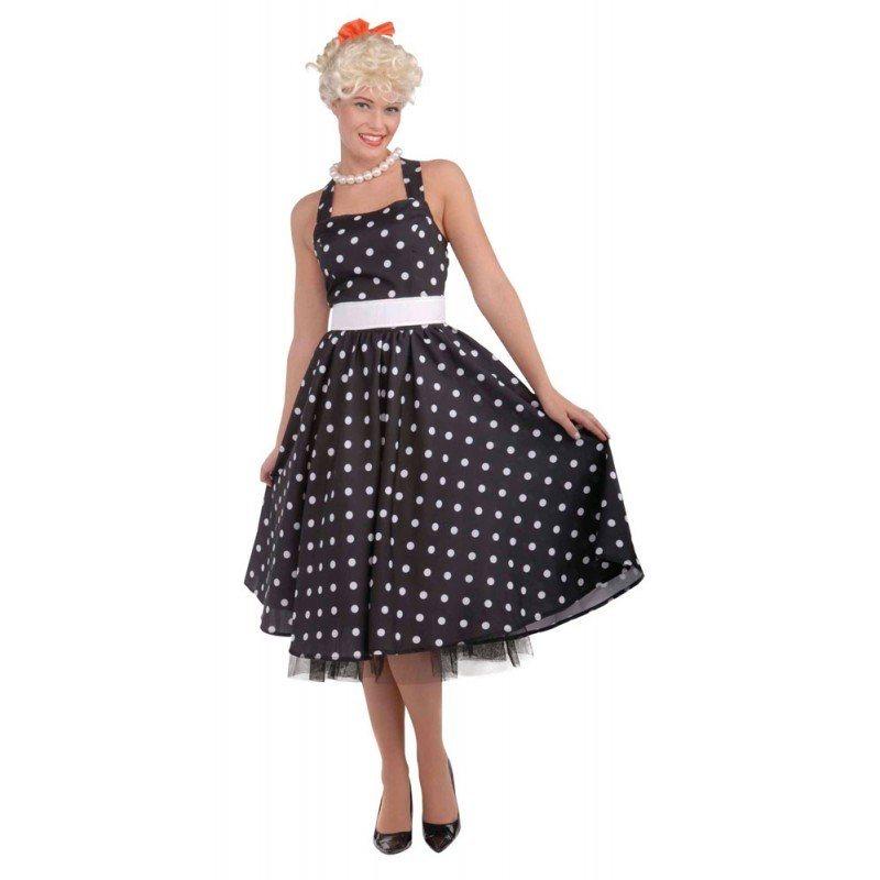 384ebb17a80d64 50´s Petticoat Kleid Damenkostüm schwarz - S/M   OTTO