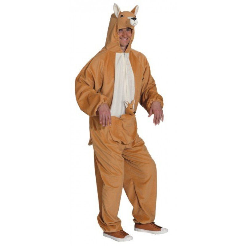 Känguru Overall Herren-Kostüm - 54-58