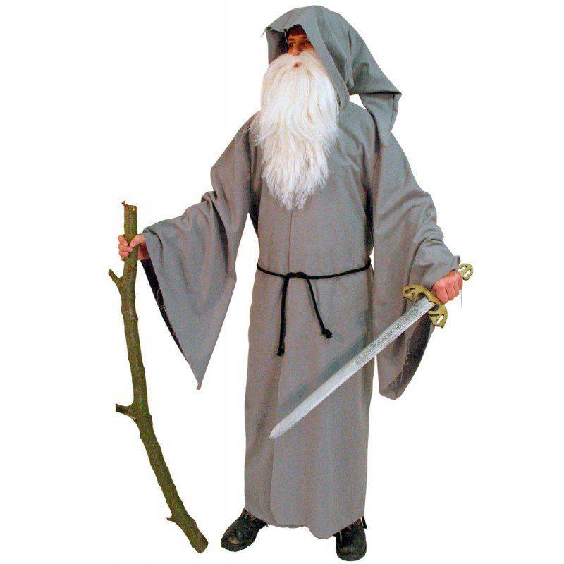 Druiden Mantel Herrenkostüm - Einheitsgröße (M-XL)