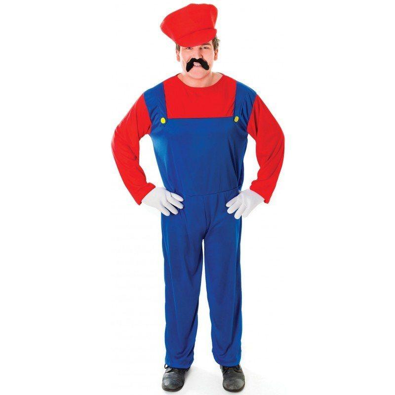 Super Marlo Klempner Kostüm - M/L online kaufen