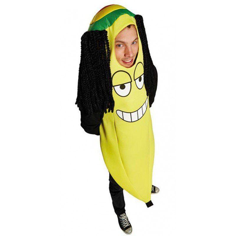 Rasta-Banane Kostüm Herren - Einheitsgröße