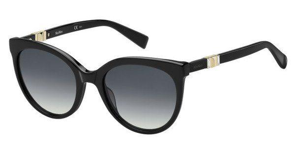 Max Mara Damen Sonnenbrille » MM JEWEL II«, schwarz, 807/9O - schwarz/grau