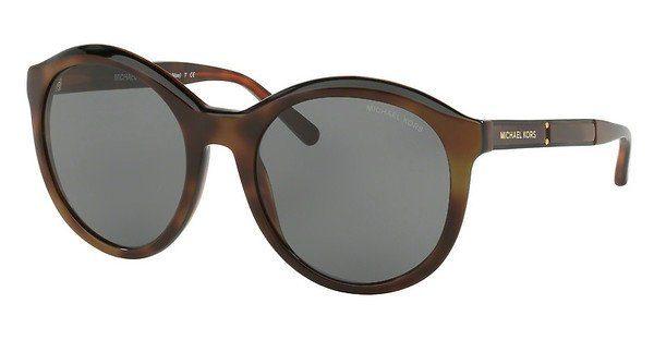 MICHAEL KORS Michael Kors Damen Sonnenbrille »MAE MK2048«, orange, 325387 - orange/grau
