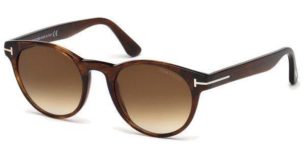 Tom Ford Sonnenbrille »Palmer FT0522«, schwarz, 05B - schwarz/grau