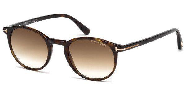 Tom Ford Herren Sonnenbrille »Andrea FT0539«, schwarz, 01B - schwarz/grau