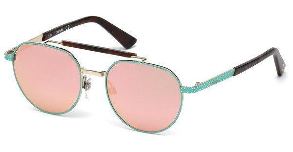 Diesel Sonnenbrille » DL0239«, grün, 95Z - grün/Mirror