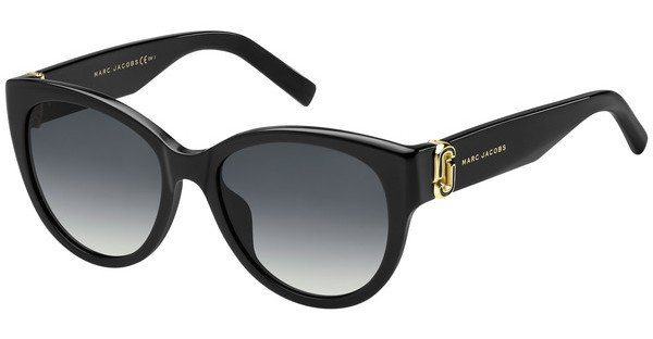 MARC JACOBS Marc Jacobs Sonnenbrille » MARC 302/S«, schwarz, 807/9O - schwarz/grau
