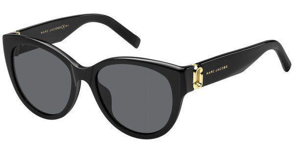 MARC JACOBS Marc Jacobs Damen Sonnenbrille » MARC 182/S«, schwarz, 807/IR - schwarz/grau