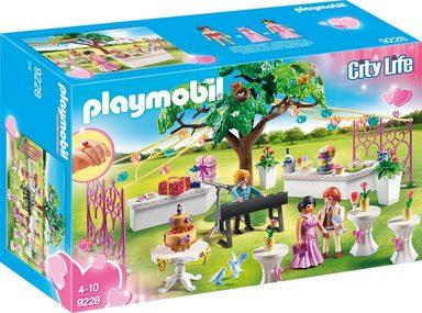 Playmobil® Konstruktionsspielsteine »Hochzeitsparty (9228), City Life«