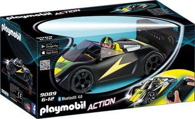 Playmobil® Konstruktionsspielsteine »RC-Supersport-Racer (9089), Action«