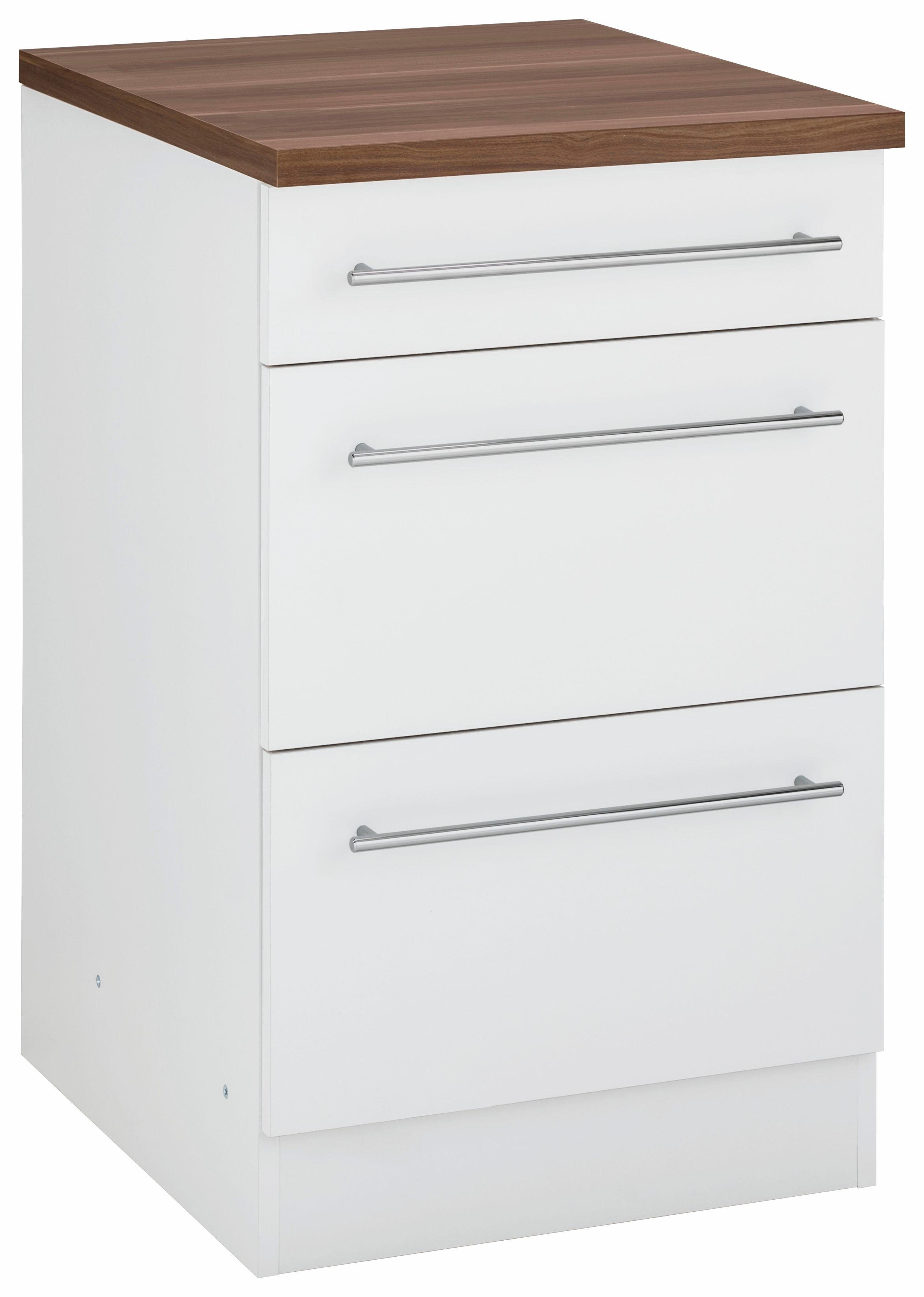 schwarz-hochglanz Küchen-Unterschränke online kaufen | Möbel ...