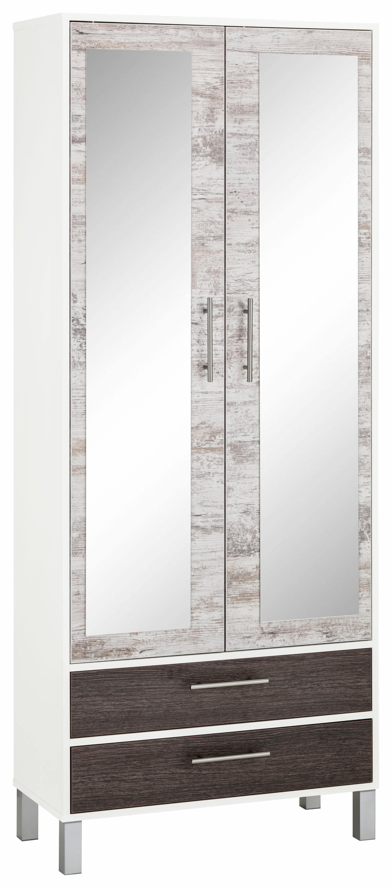Garderobenschrank »Simon« mit Spiegel