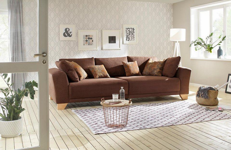 Home Affaire Sofa Benno Mit Komfort Sitzhöhe Und Kappnaht Online