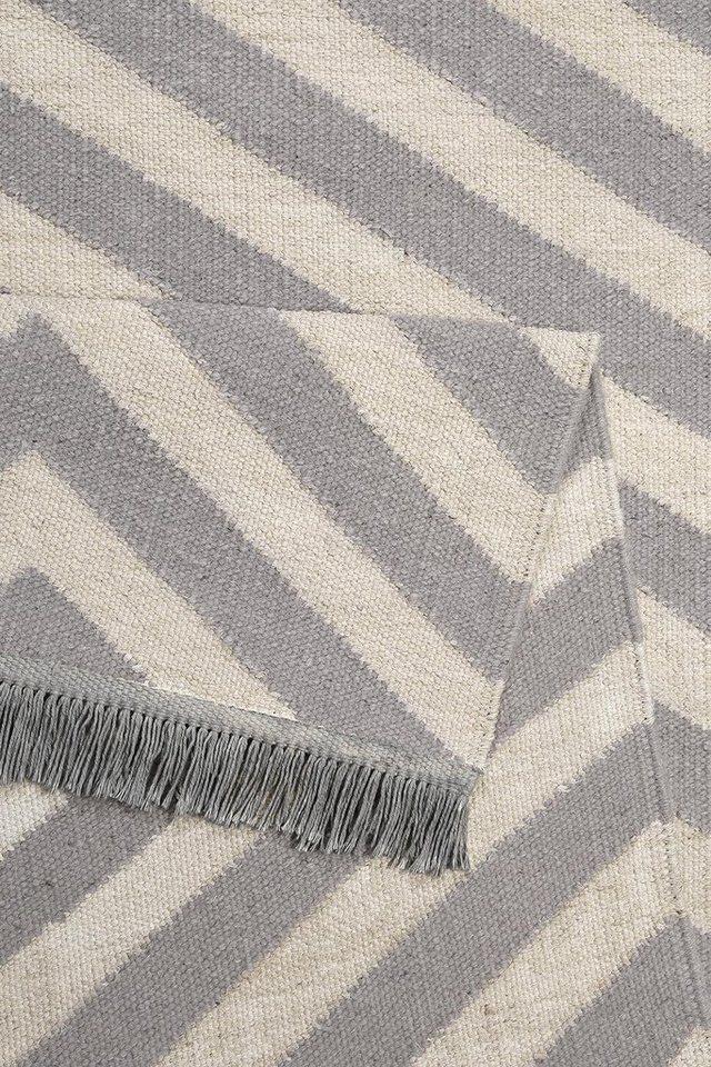 Teppich, Carpets&Co, »Edgy Corners«, Höhe: 5 mm, handgewebt
