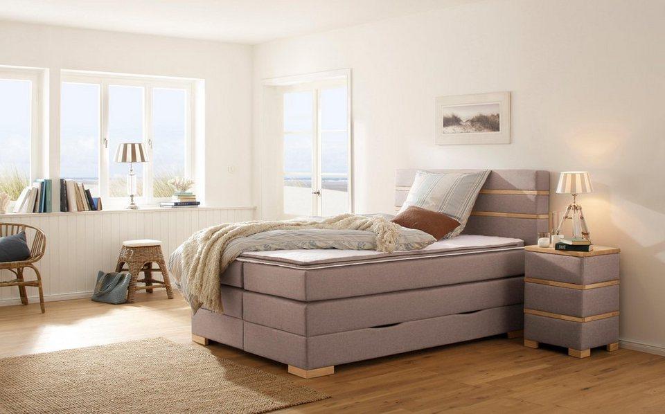 home affaire boxspringbett carlton incl topper bettkasten 2 breiten und div ausf hrungen. Black Bedroom Furniture Sets. Home Design Ideas