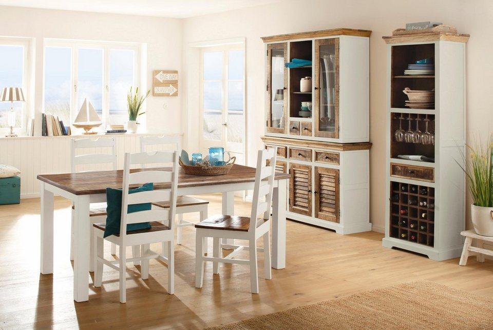 home affaire sideboard new orleans 140 cm breit. Black Bedroom Furniture Sets. Home Design Ideas