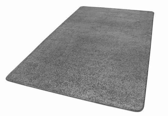 Teppich »Oxford«, LUXOR living, rechteckig, Höhe 13 mm, Wunschmaß, weiche Microfaser, Wohnzimmer