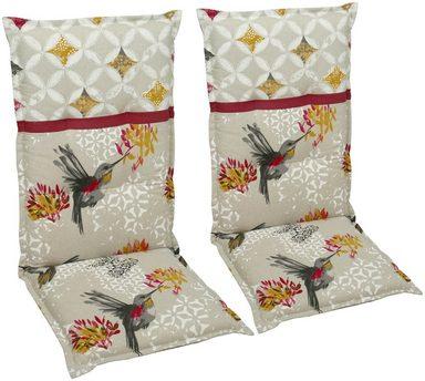 go de hochlehnerauflage 2er set l b ca 120x50 cm online kaufen otto. Black Bedroom Furniture Sets. Home Design Ideas