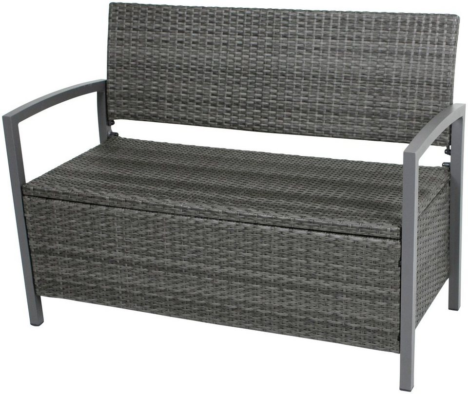 garden pleasure gartenbank ferrara polyrattan. Black Bedroom Furniture Sets. Home Design Ideas