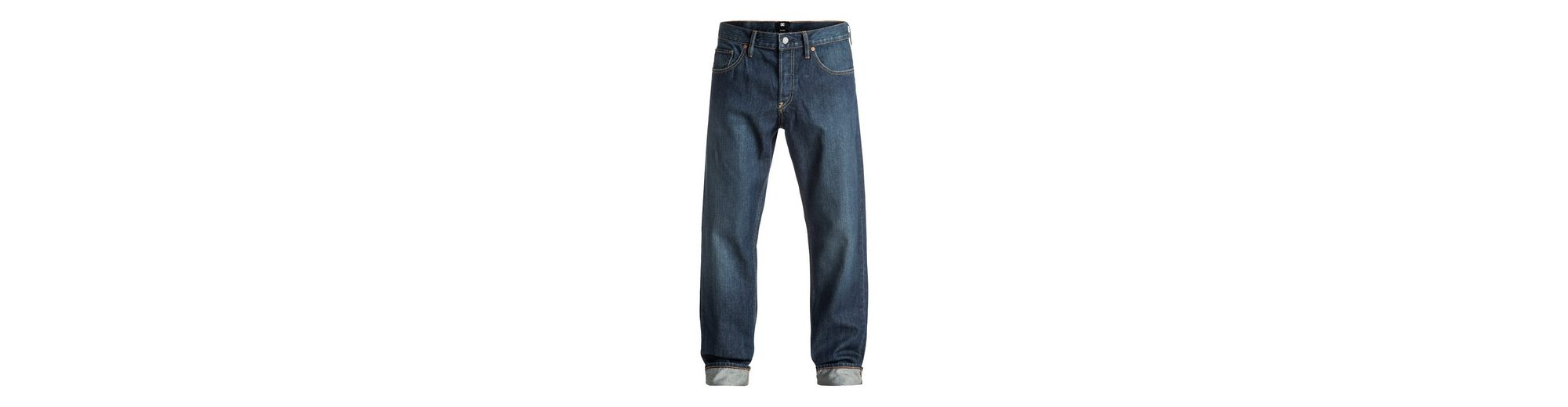 DC Shoes Roomy Fit Jeans Worker Roomy Stone Wash - Roomy Fit Jeans
