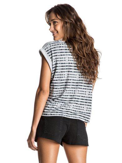 Roxy T-Shirt mit gekrempelten Ärmeln Guerrero Locals Dreamer - T-Shirt