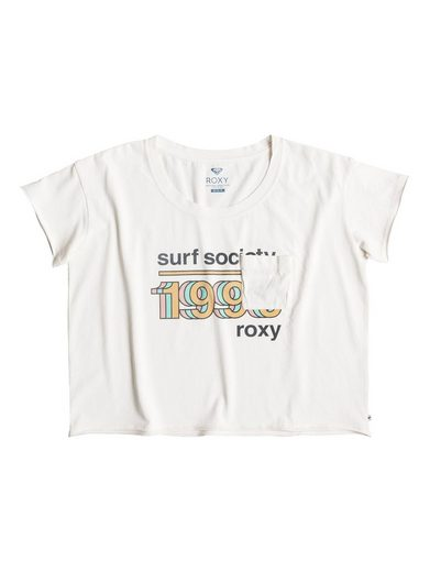 Roxy Cropped T-Shirt Baby Tacos Surf Society - Cropped T-Shirt