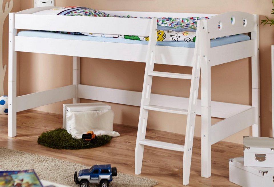 Ticaa Etagenbett Vorhang : Ticaa einzel hochbett kiefer »kenny« kaufen otto