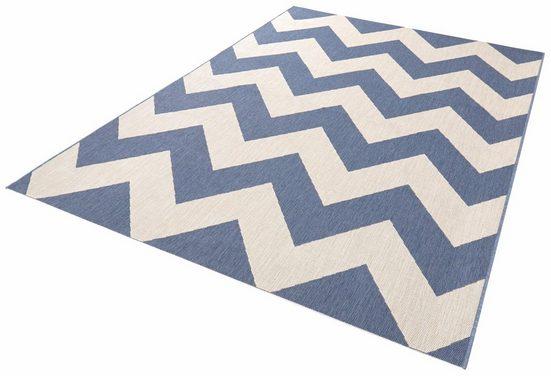 Teppich »Unique«, bougari, rechteckig, Höhe 8 mm, Flachgewebe, In- und Outdoor geeignet