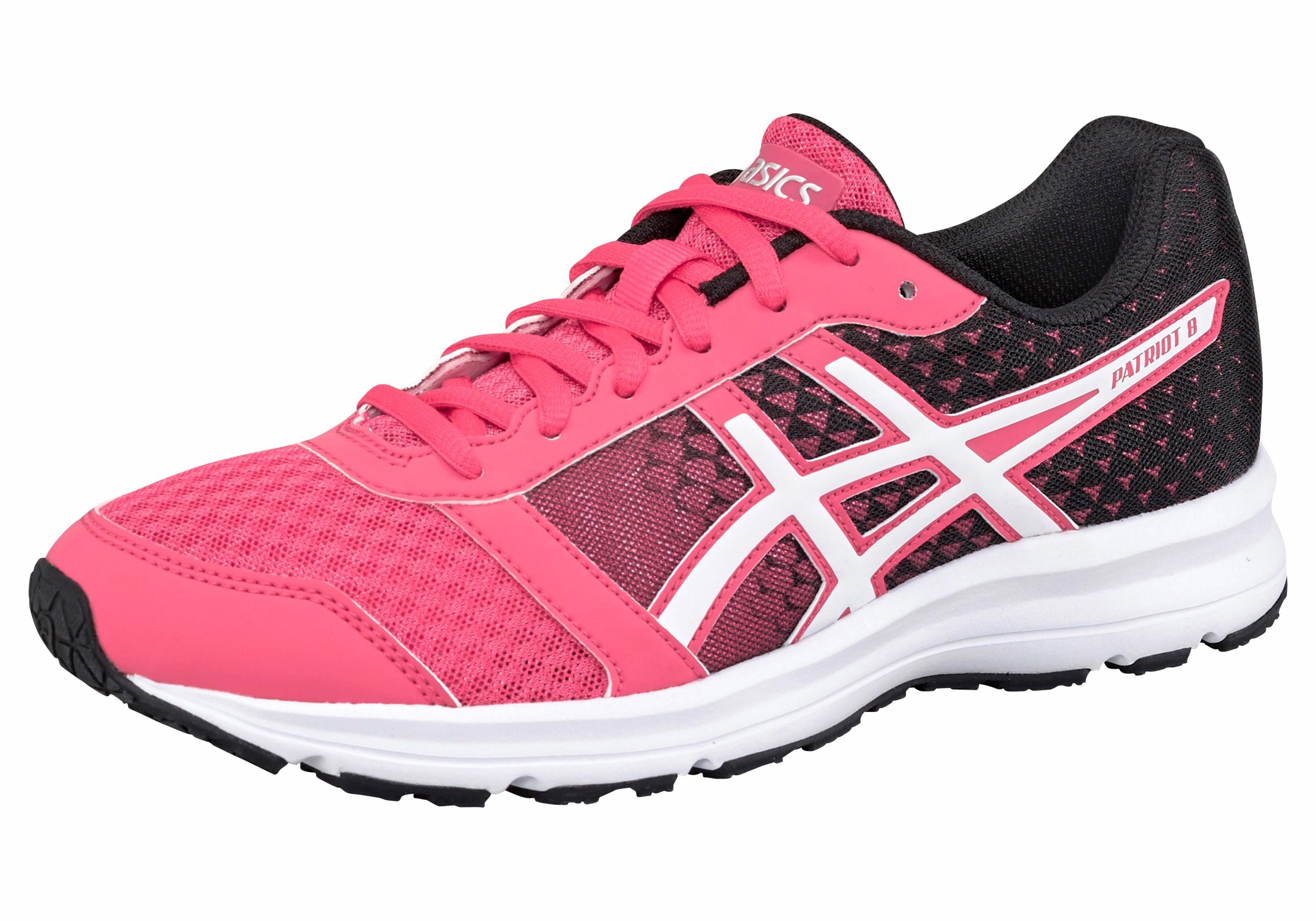 Asics Patriot 8 Laufschuh online kaufen  schwarz-pink