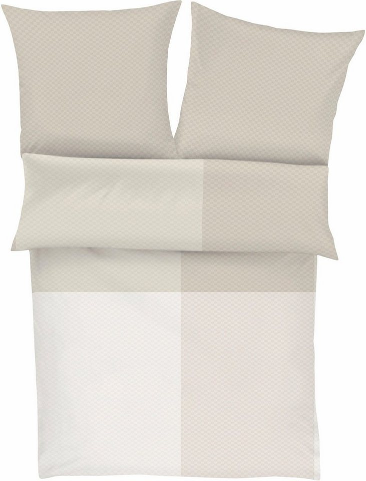 bettw sche s oliver red label luca mit gro en und kleinen karos online kaufen otto. Black Bedroom Furniture Sets. Home Design Ideas