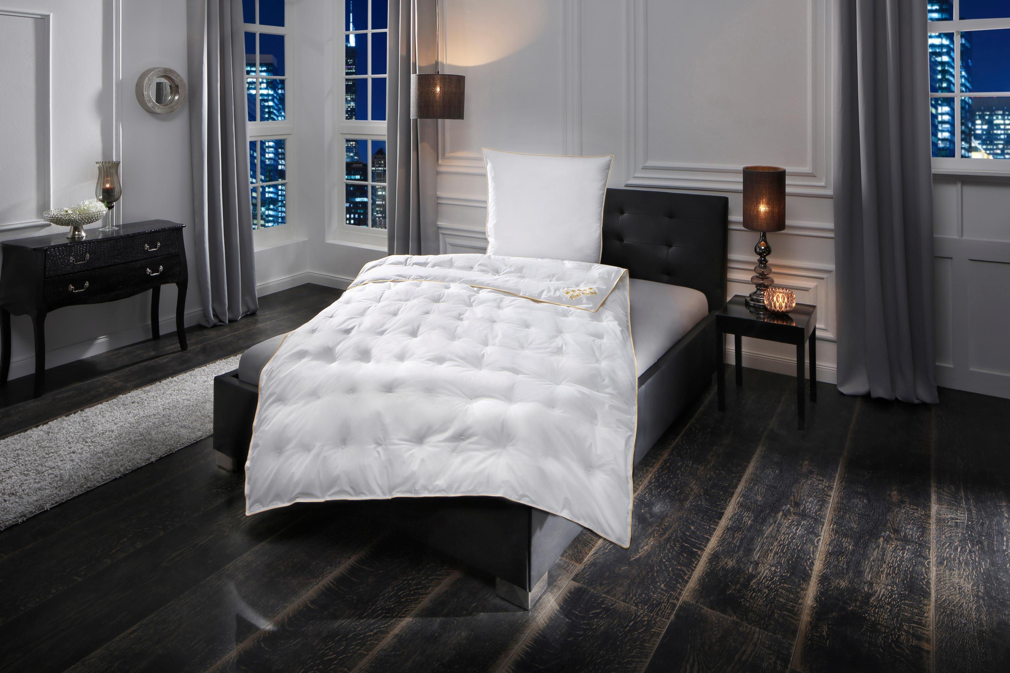 Daunenbettdecke, »Emilia«, OBB, leicht, Füllung: 90% Daunen, 10%Federn, (1-tlg) | Heimtextilien > Decken und Kissen > Bettdecken | OBB