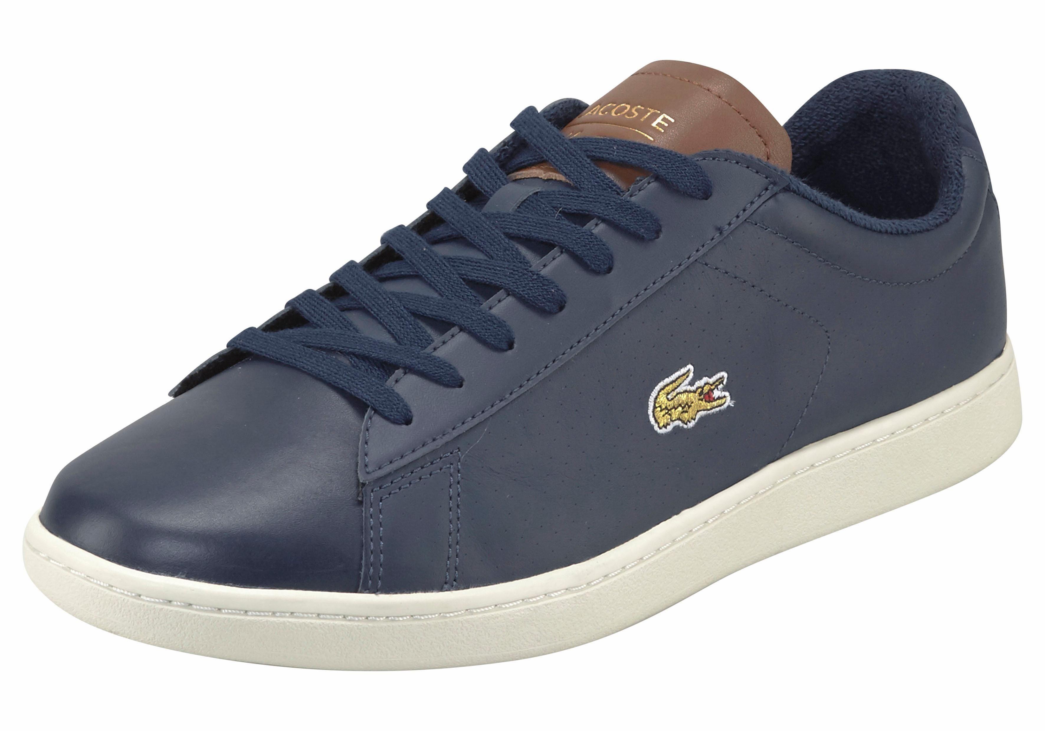Lacoste Carnaby Evo 317 6 Sneaker online kaufen  dunkelblau-braun
