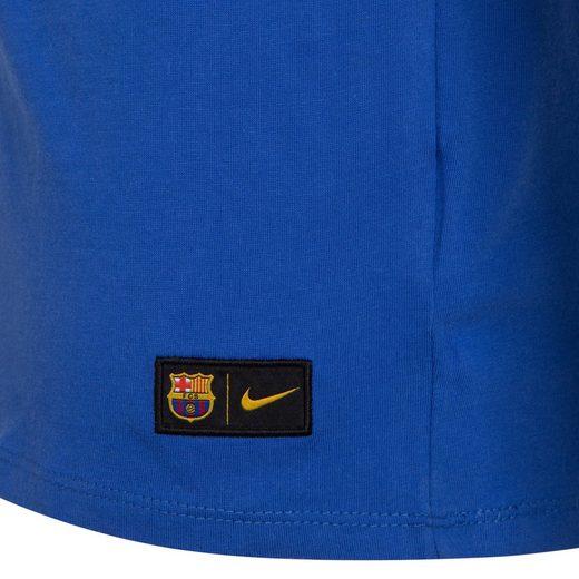 Nike FC Barcelona Crest T-Shirt Herren