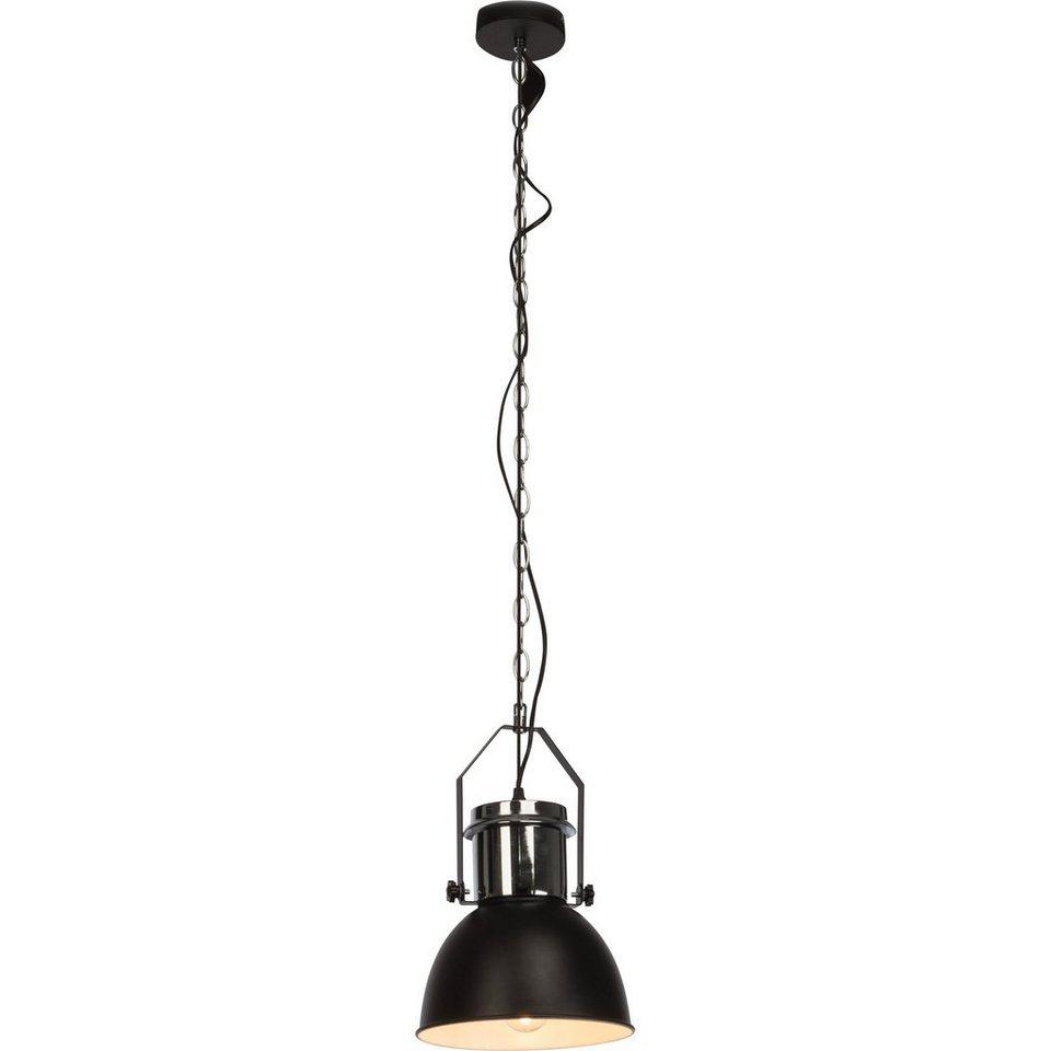 brilliant leuchten salford pendelleuchte 1 flammig schwarz chrom online kaufen otto. Black Bedroom Furniture Sets. Home Design Ideas