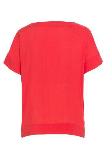 MORE&MORE rote Bluse, Viskose