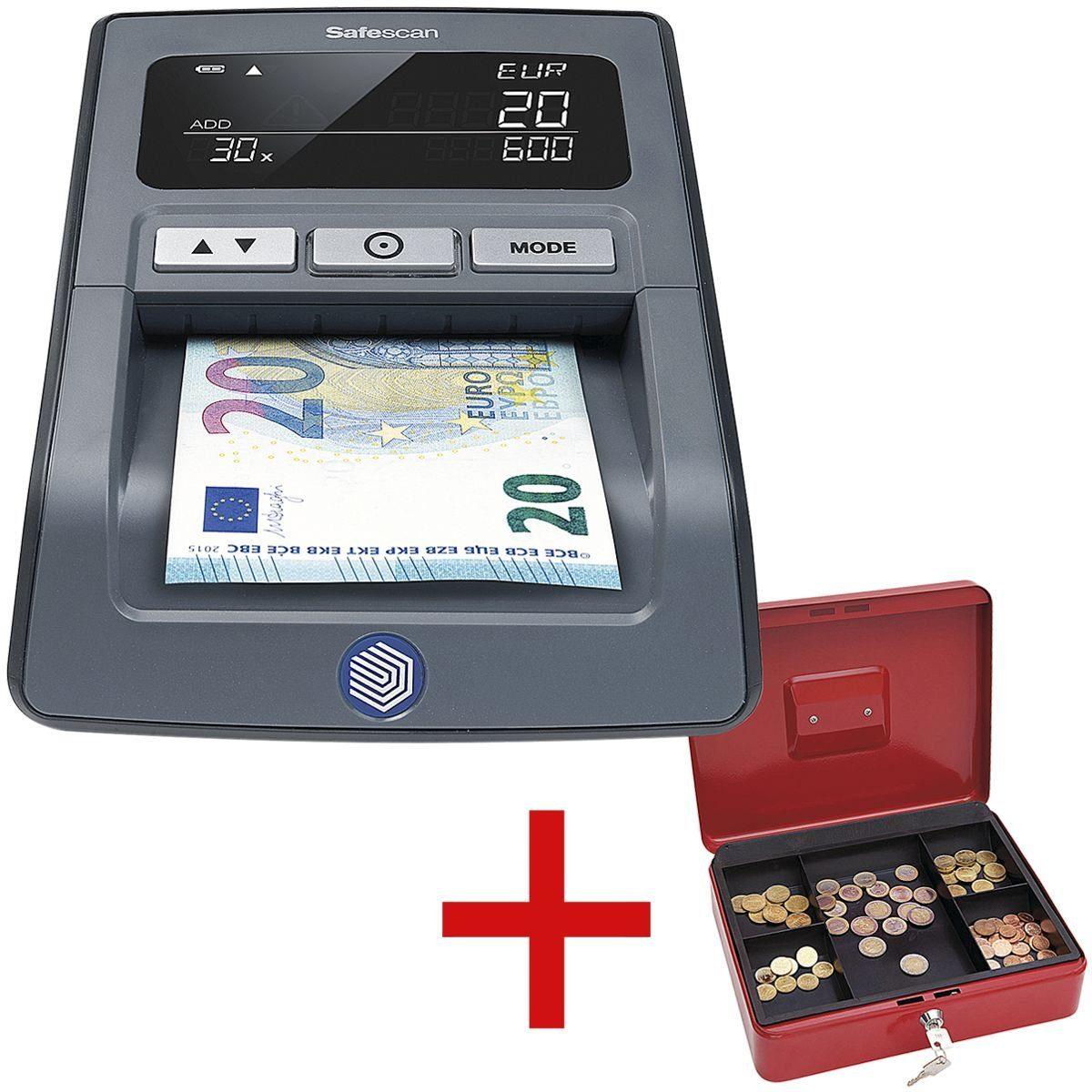 SAFESCAN Geldscheinprüfgerät inkl. Geldkassette »155-s« 1 Set
