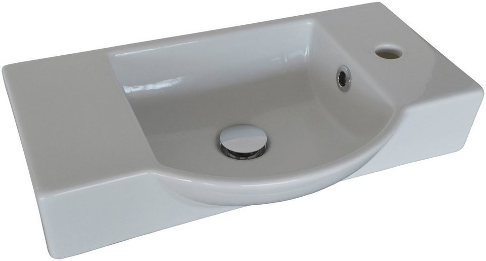 FACKELMANN Waschbecken »Gäste-WC«, Breite 54,5 cm, für Gäste-WC, Keramik  online kaufen | OTTO