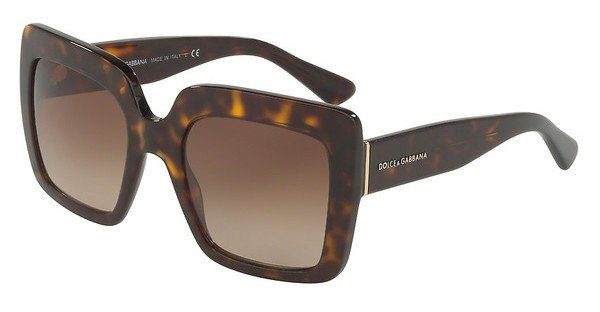 DOLCE & GABBANA Dolce & Gabbana Damen Sonnenbrille » DG4336«, braun, 502/13 - braun/braun