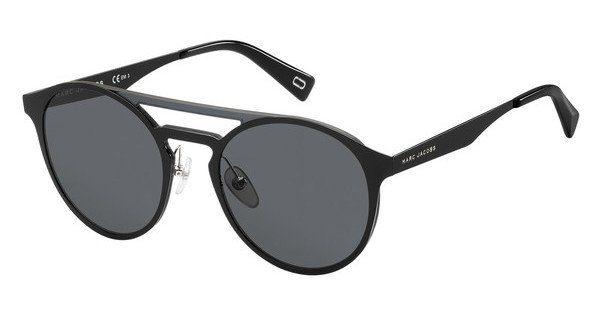 MARC JACOBS Marc Jacobs Herren Sonnenbrille » MARC 199/S«, schwarz, 807/IR - schwarz/grau