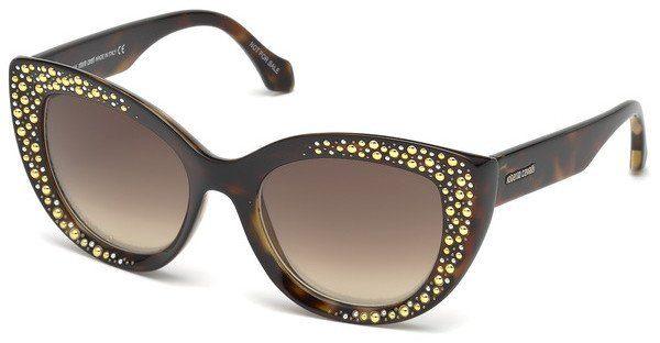 roberto cavalli Roberto Cavalli Damen Sonnenbrille » RC1085«, schwarz, 01B - schwarz/grau