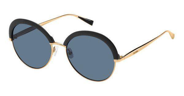 Max Mara Damen Sonnenbrille » MM ILDE II«, schwarz, 1UV/9A - schwarz/blau