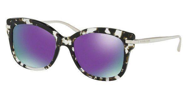 MICHAEL KORS Michael Kors Damen Sonnenbrille »LIA MK2047«, grau, 32434V - grau/lila