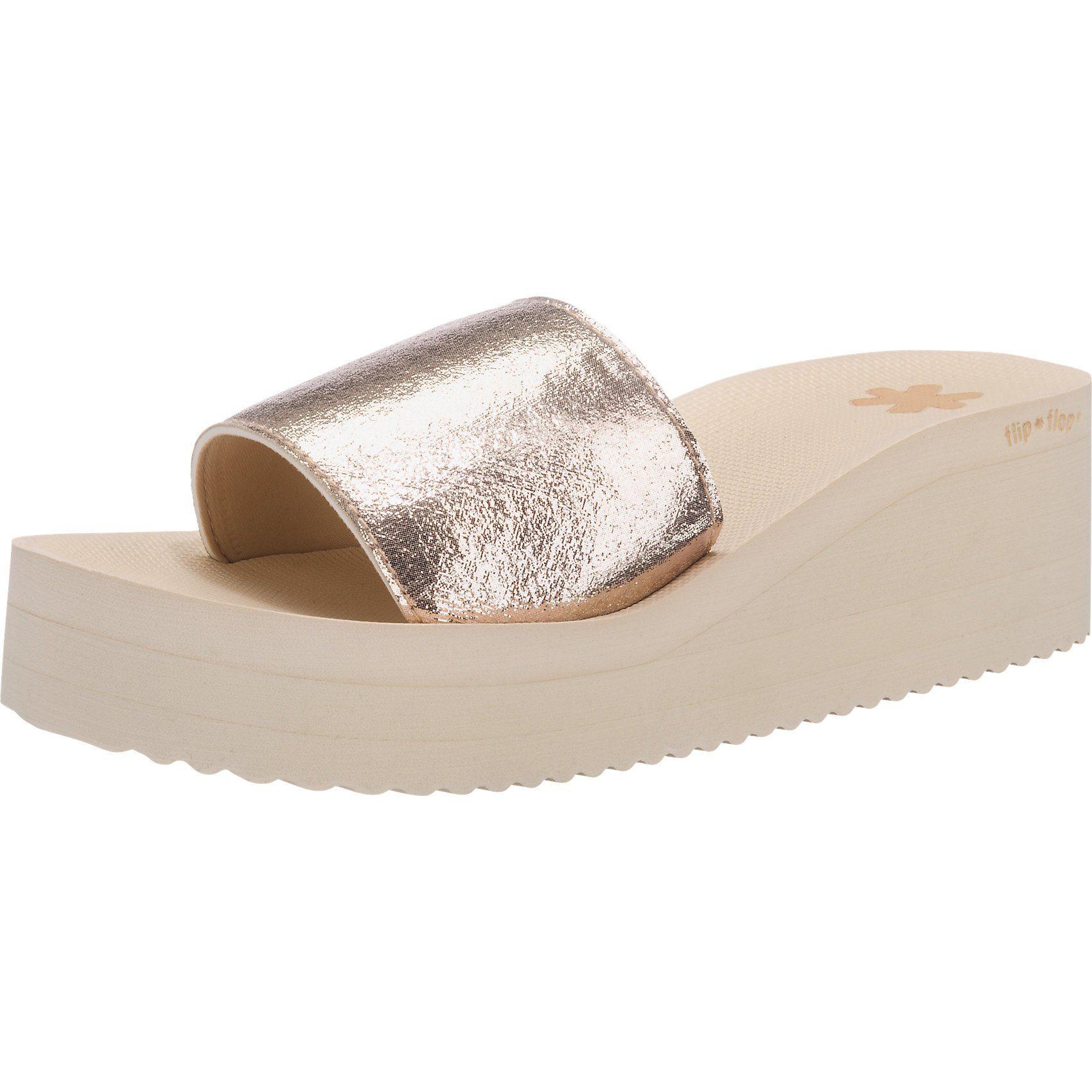 flip flop Pantoletten online kaufen  gold
