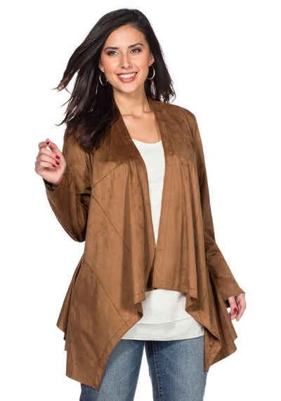 Куртка из искусственной кожи Sheego