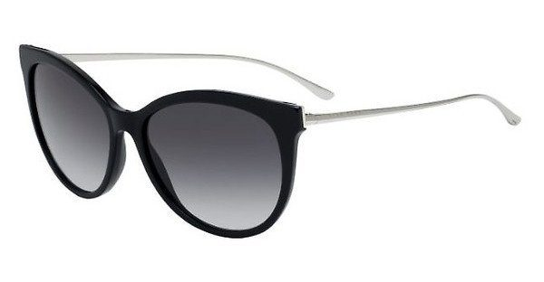 Boss Damen Sonnenbrille » BOSS 0892/S«, schwarz, RHP/9O - schwarz/grau