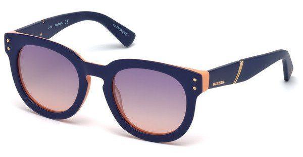 Diesel Damen Sonnenbrille » DL0230«, blau, 92Z - blau/lila
