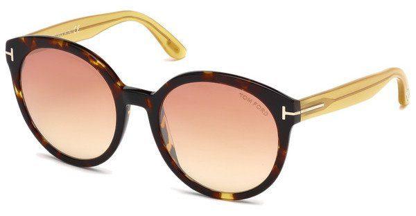 Tom Ford Sonnenbrille »Philippa FT0503«, braun, 52Z - braun/lila