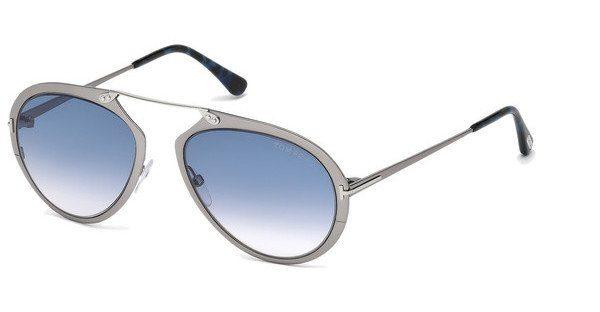 Tom Ford Sonnenbrille »Dashel FT0508«, grau, 12W - grau/blau