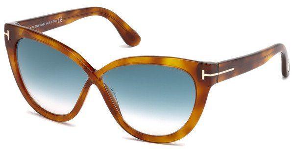 Tom Ford Damen Sonnenbrille »Arabella FT0511«, schwarz, 05G - schwarz/braun