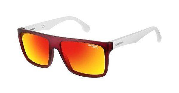 Carrera Eyewear Herren Sonnenbrille » CARRERA 5039/S«, rot, 25Q/UZ - rot/rot